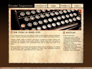 panfleto Tradutor do Brasil - Soluções Linguísticas