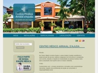 panfleto Centro Médico Arraial d'Ajuda