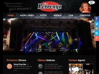 panfleto The PERRENGZ - Crazy Rock Band