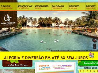 panfleto Arraial d'Ajuda Eco Parque