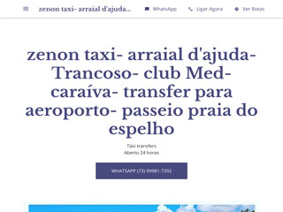 panfleto Zenon Táxi